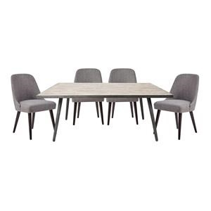Jofran Retro Vibes Dining Table and Chair Set