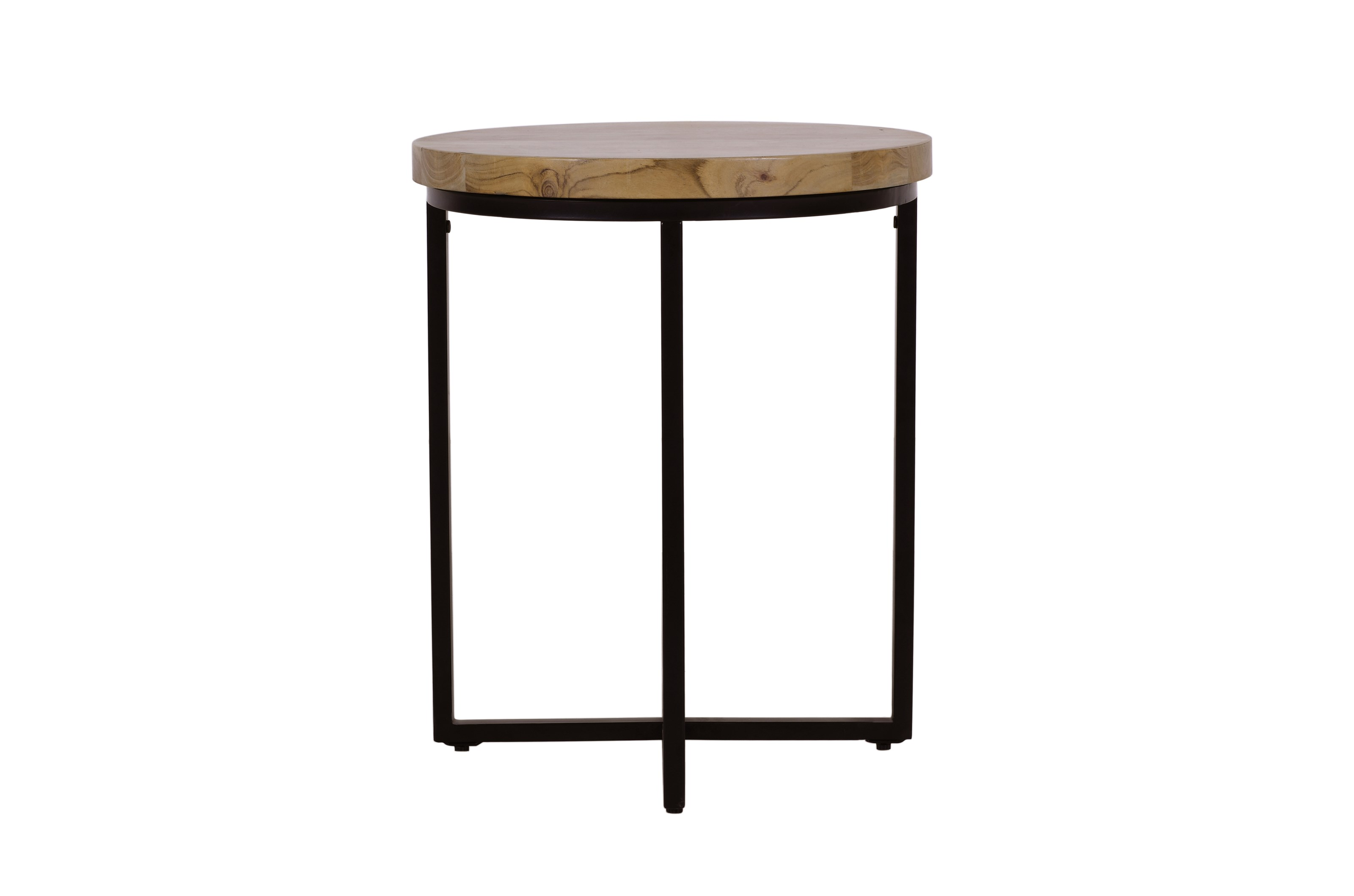 Ames Round End Table by Jofran at Mueller Furniture
