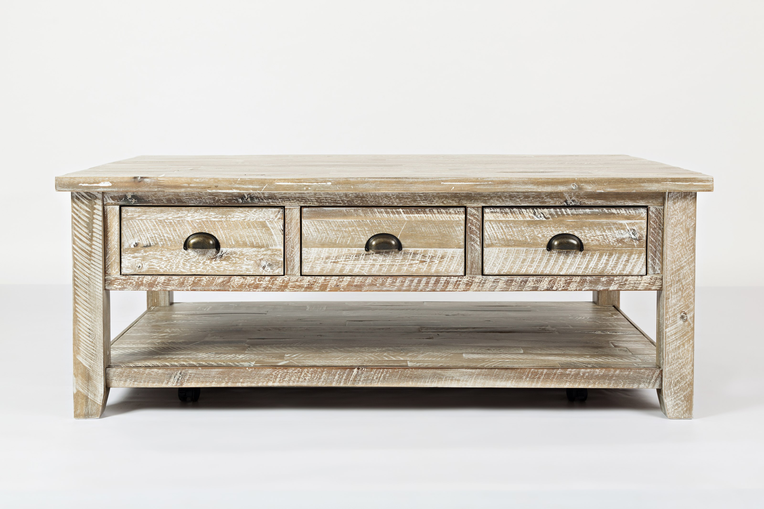 Artisan's Craft Cocktail Table by Jofran at Home Furnishings Direct