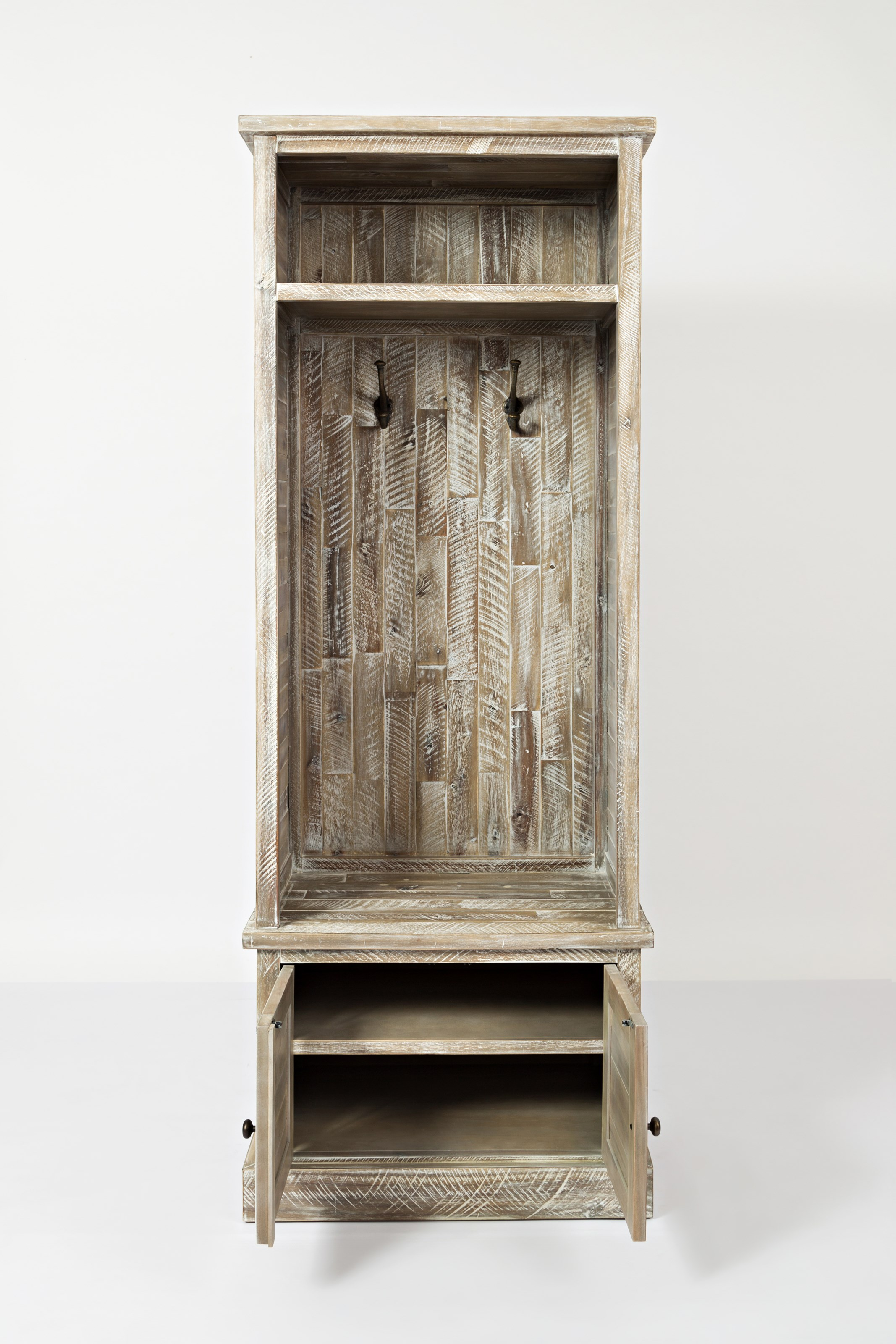 Jofran Artisan's Craft Hall Tree - Item Number: 1743-15TBKT