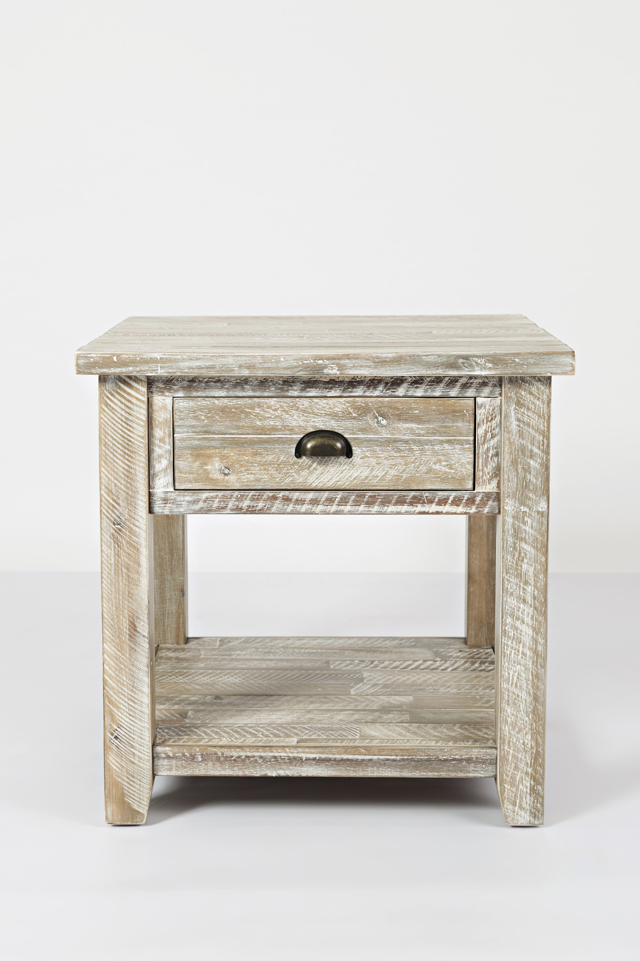 Artisan's Craft End Table by Jofran at Sparks HomeStore