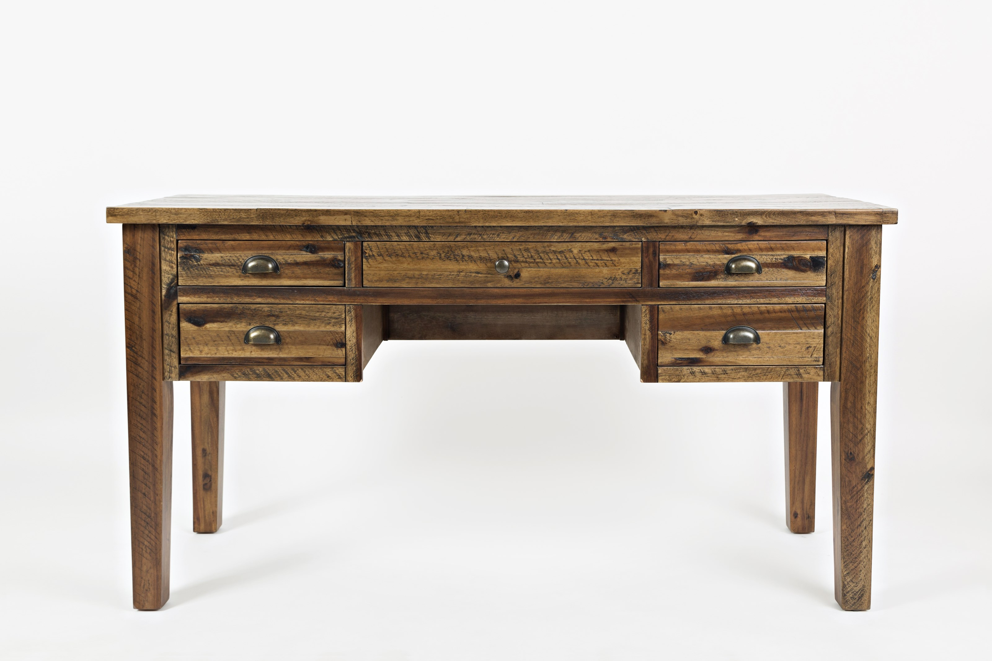 Artisan's Craft 5-Drawer Desk by Jofran at Sparks HomeStore