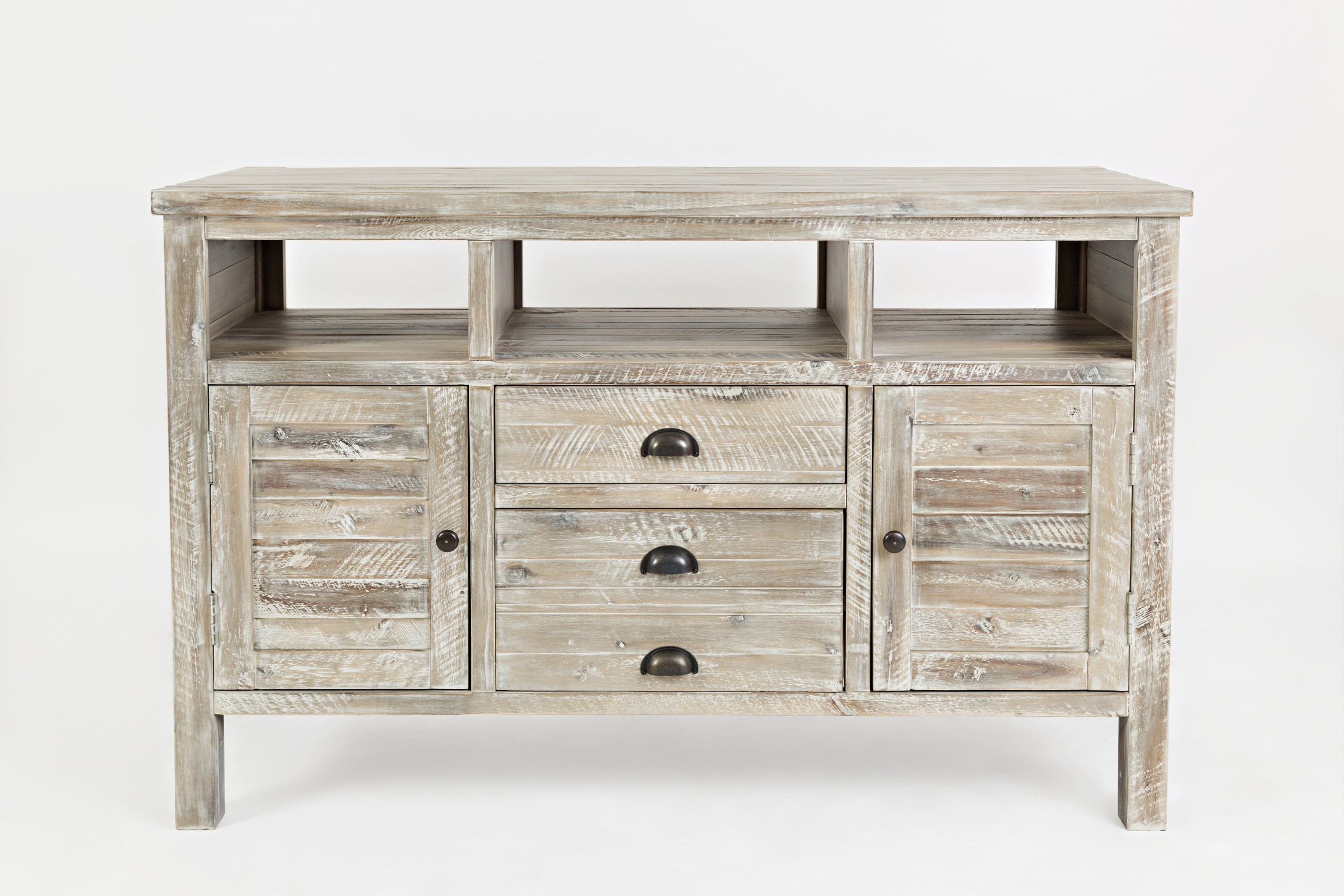 "Artisan's Craft 50"" Media Console by Jofran at Home Furnishings Direct"
