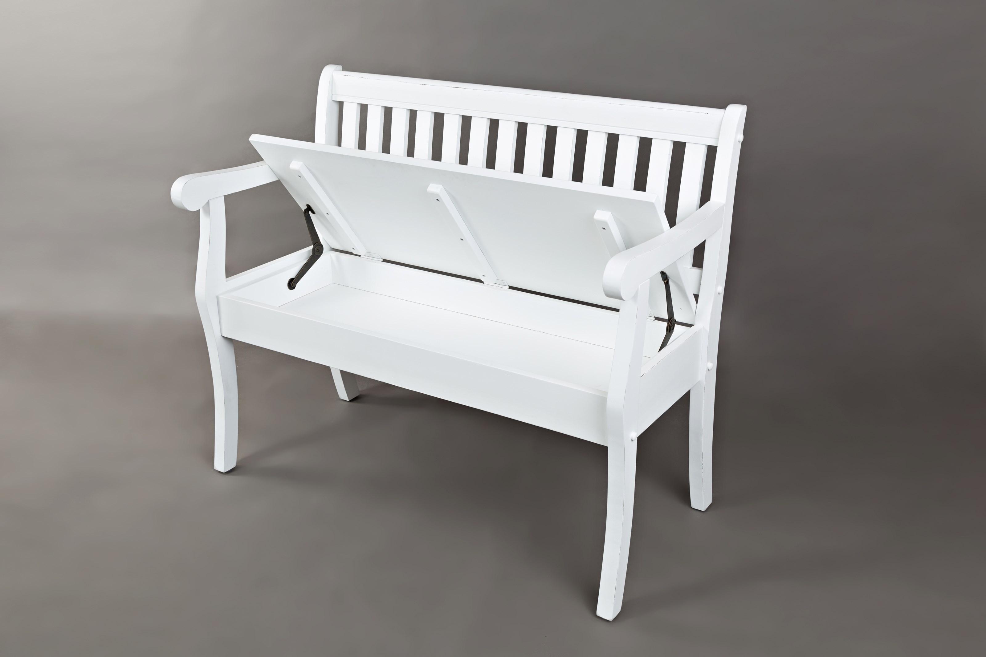 Jofran Artisan S Craft Storage Bench Vandrie Home