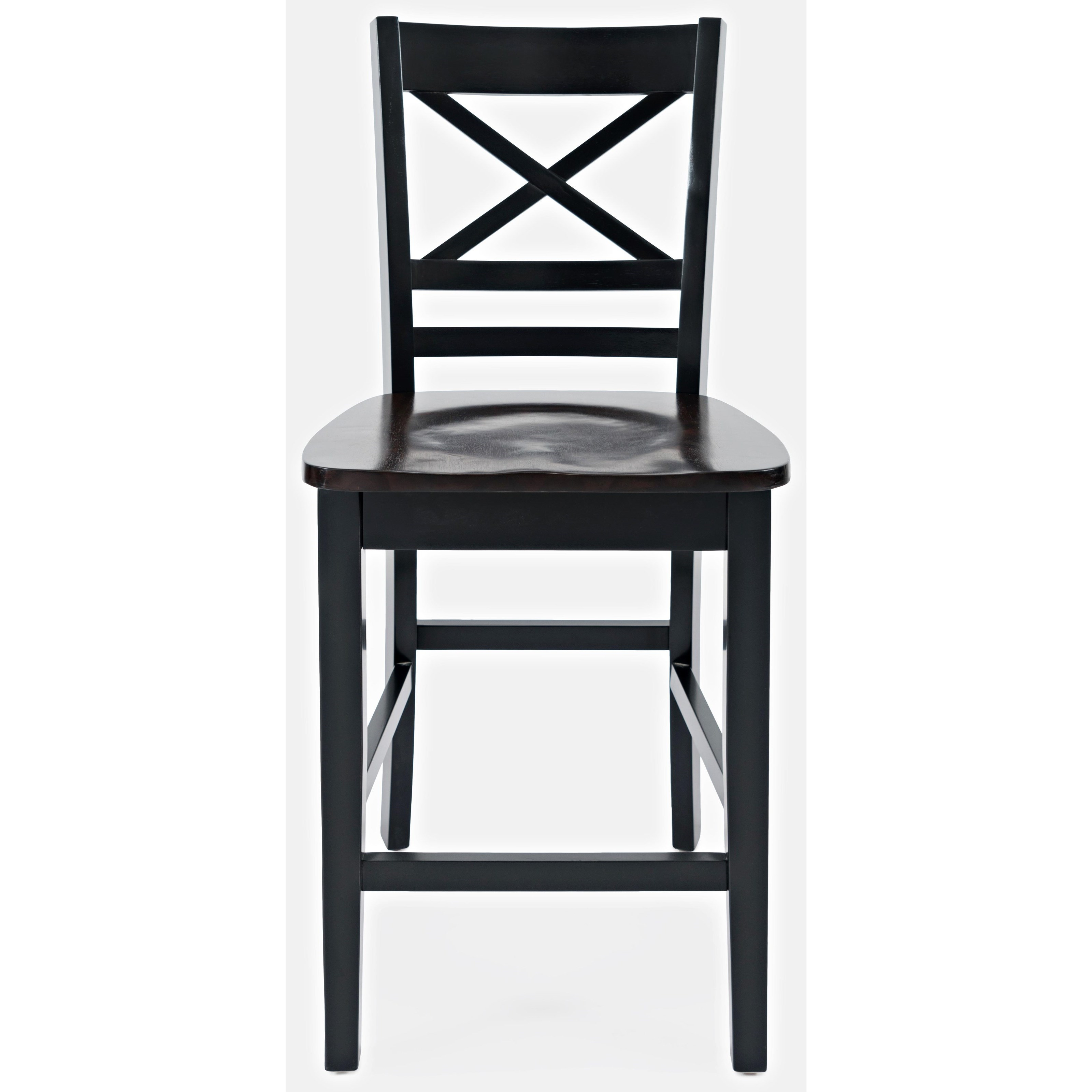 Asbury Park X-Back Stool by Jofran at Home Furnishings Direct