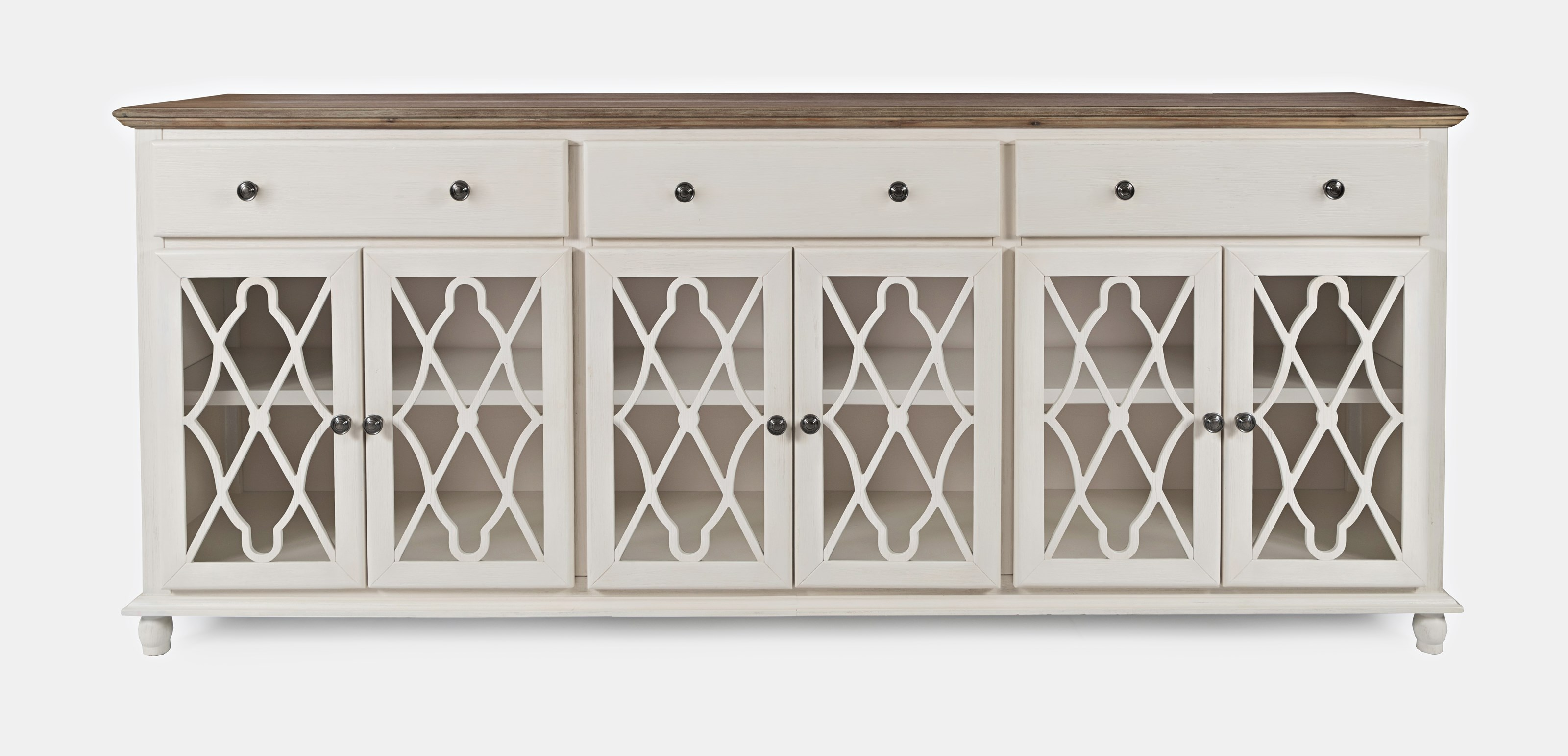 Aurora Hills 6-Door Accent Chest by Jofran at Zak's Home