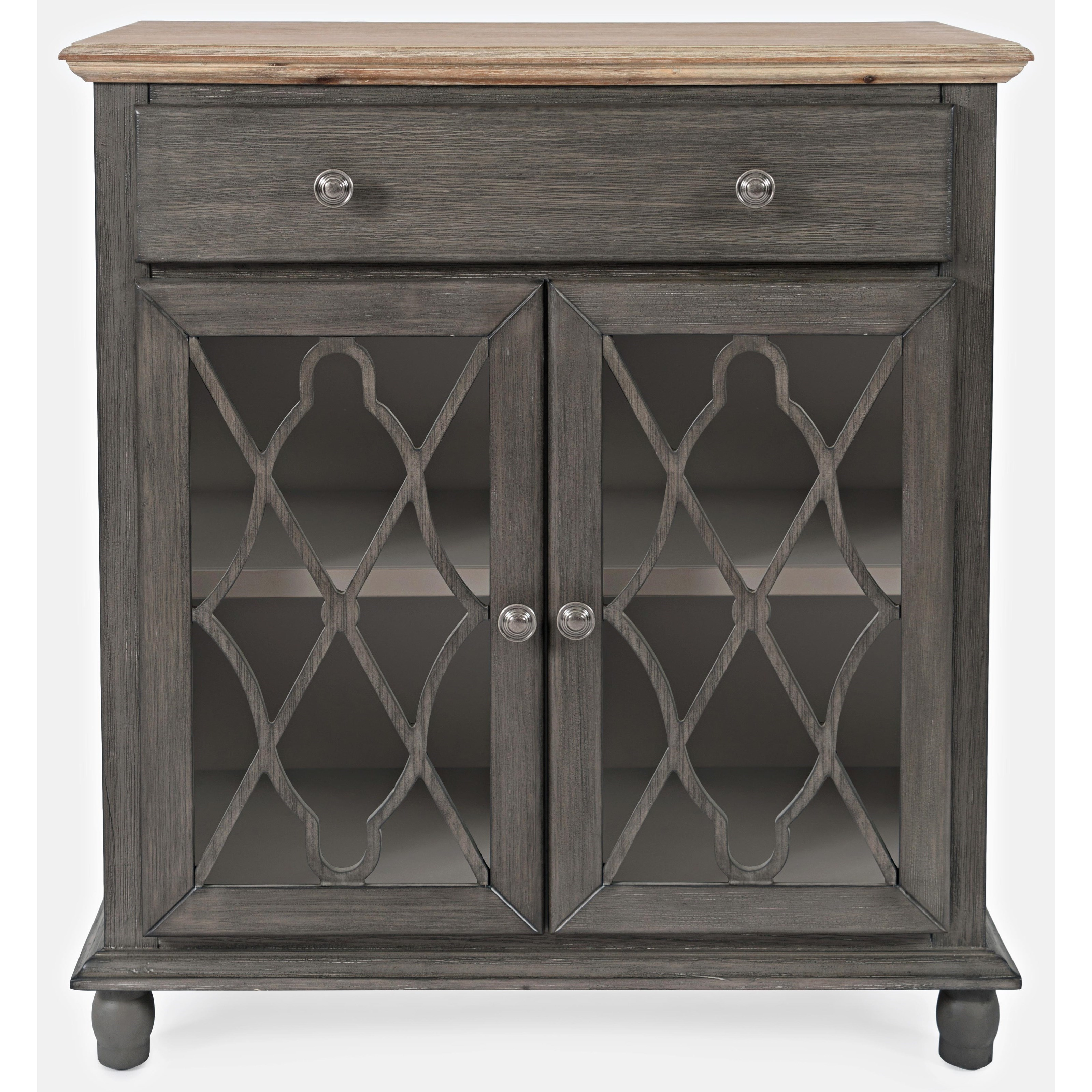 Aurora Hills 2-Door Accent Chest by Jofran at Stoney Creek Furniture