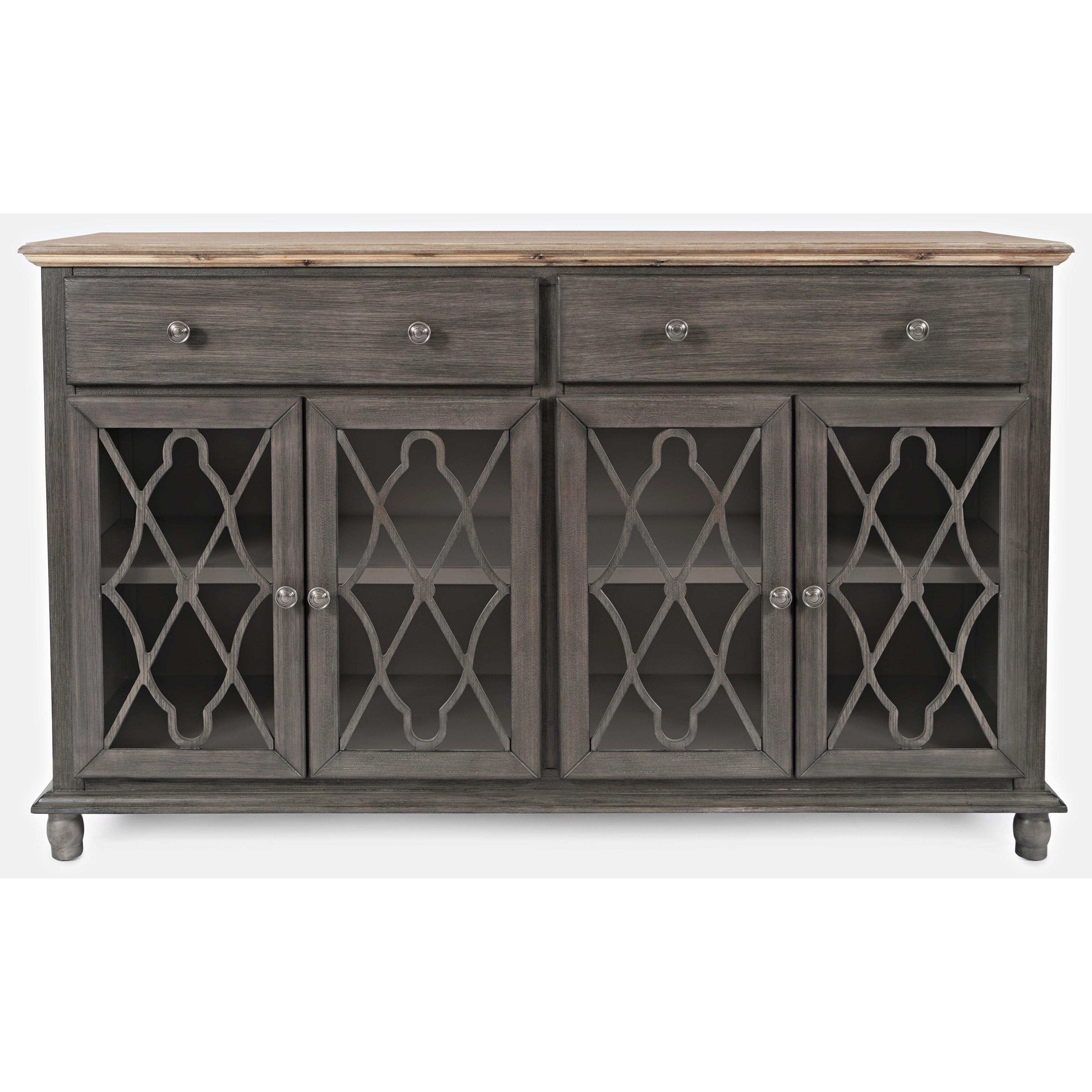 Aurora Hills 4-Door Accent Chest by Jofran at Value City Furniture