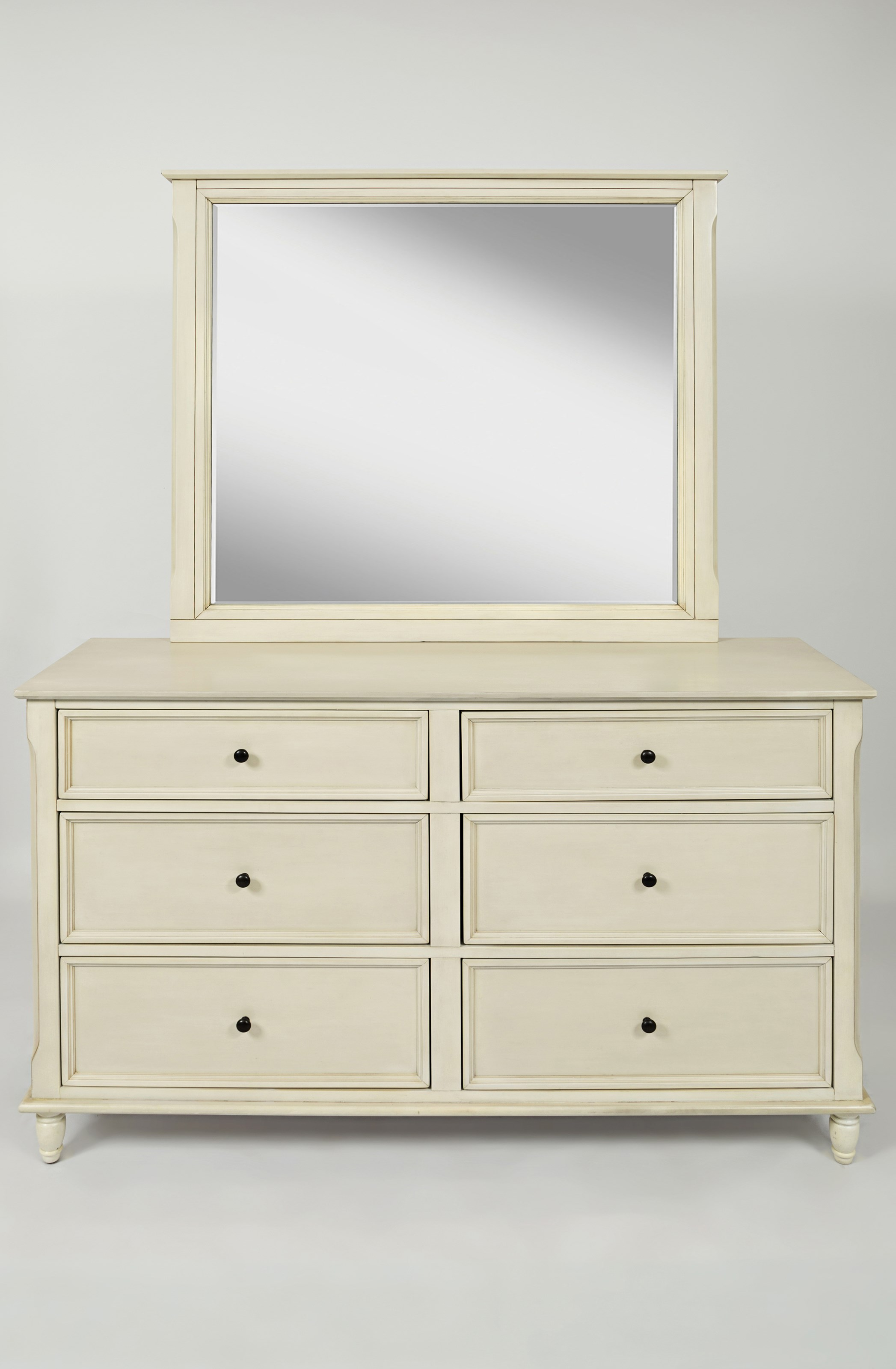 Jofran Avignon Youth Dresser and Mirror Set - Item Number: 1617-10+20
