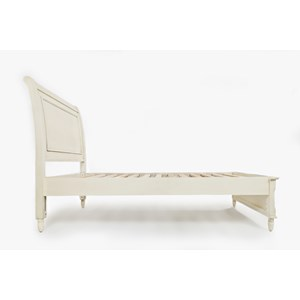 Jofran Emerson: Ivory Twin Panel Bed