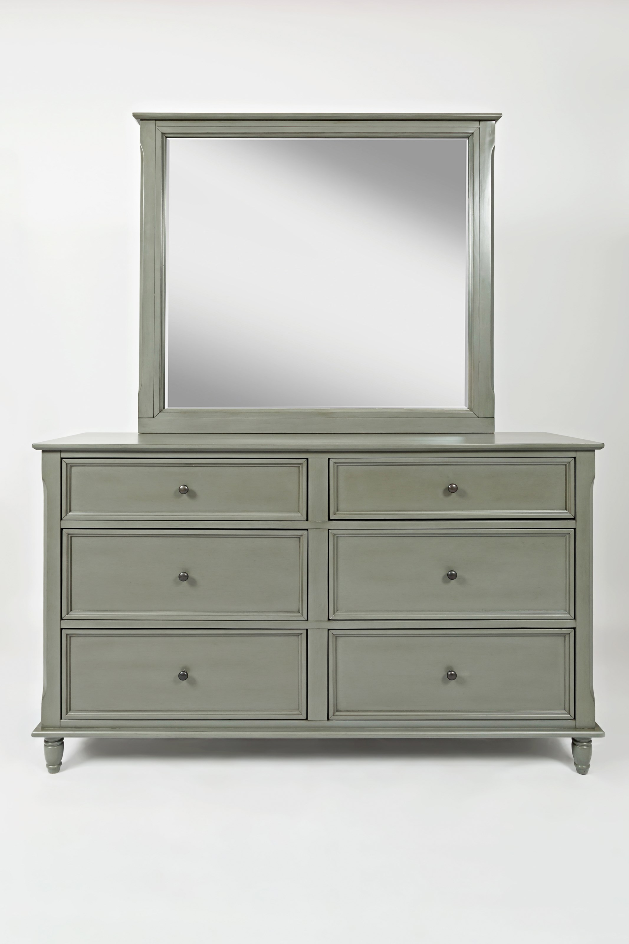 Jofran Avignon Youth Dresser and Mirror Set - Item Number: 1618-10+20