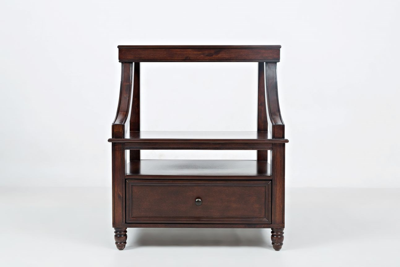 Jofran Boden: Cherry Step Up Nightstand - Item Number: 1619-90