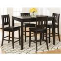 Morris Home Furnishings Berkely Berkeley 5-Piece Counter Height Dining Set - Item Number: 382665194