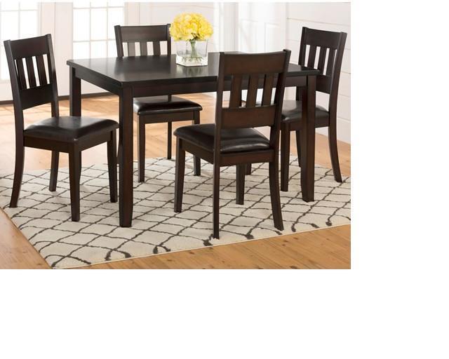 Morris Home Furnishings Berkely Berkely 5-Piece Dining Set - Item Number: 598103479