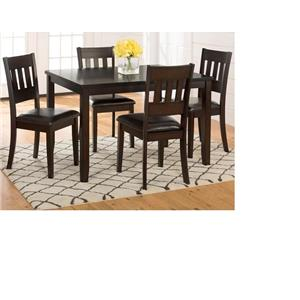 Morris Home Furnishings Berkely Berkely 5-Piece Dining Set