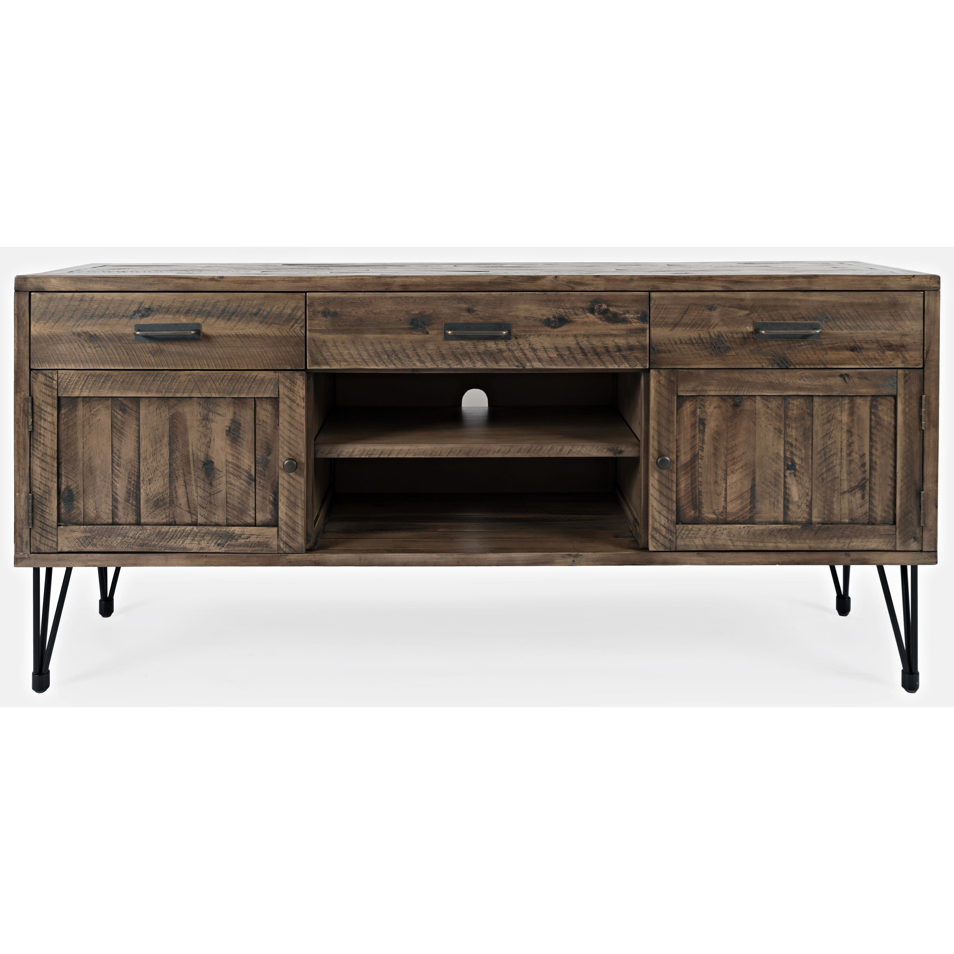 Blackstone Media Console by Jofran at Darvin Furniture