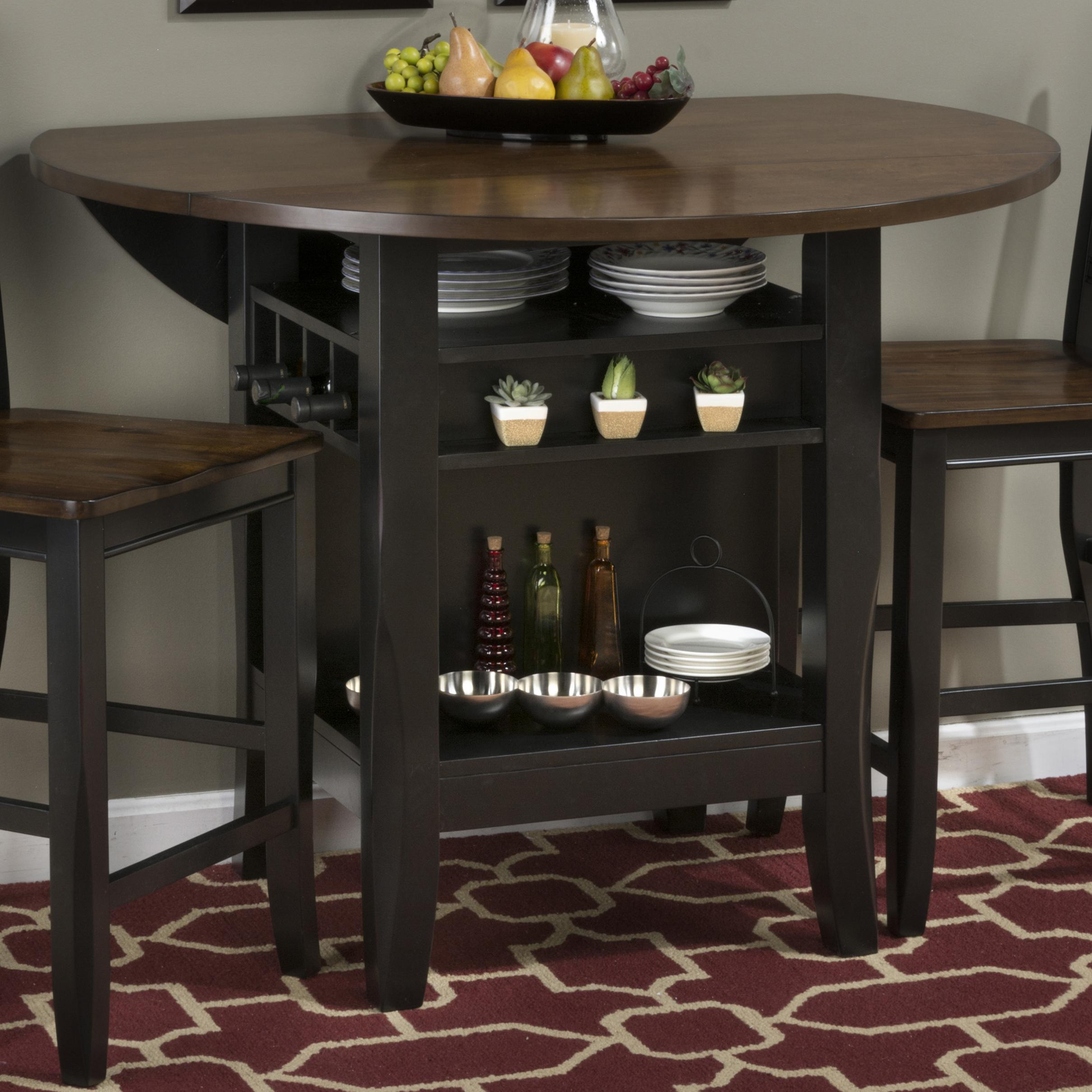 "Jofran Braden Birch 48"" Round Counter Height Table - Item Number: 272-48"