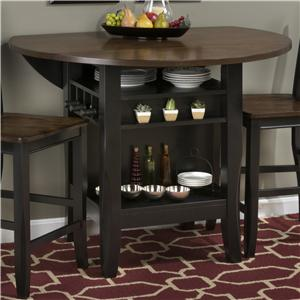 "Jofran Braden Birch 48"" Round Counter Height Table"