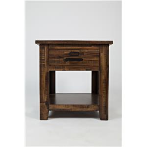 Jofran Cannon Valley Cannon Valley End Table