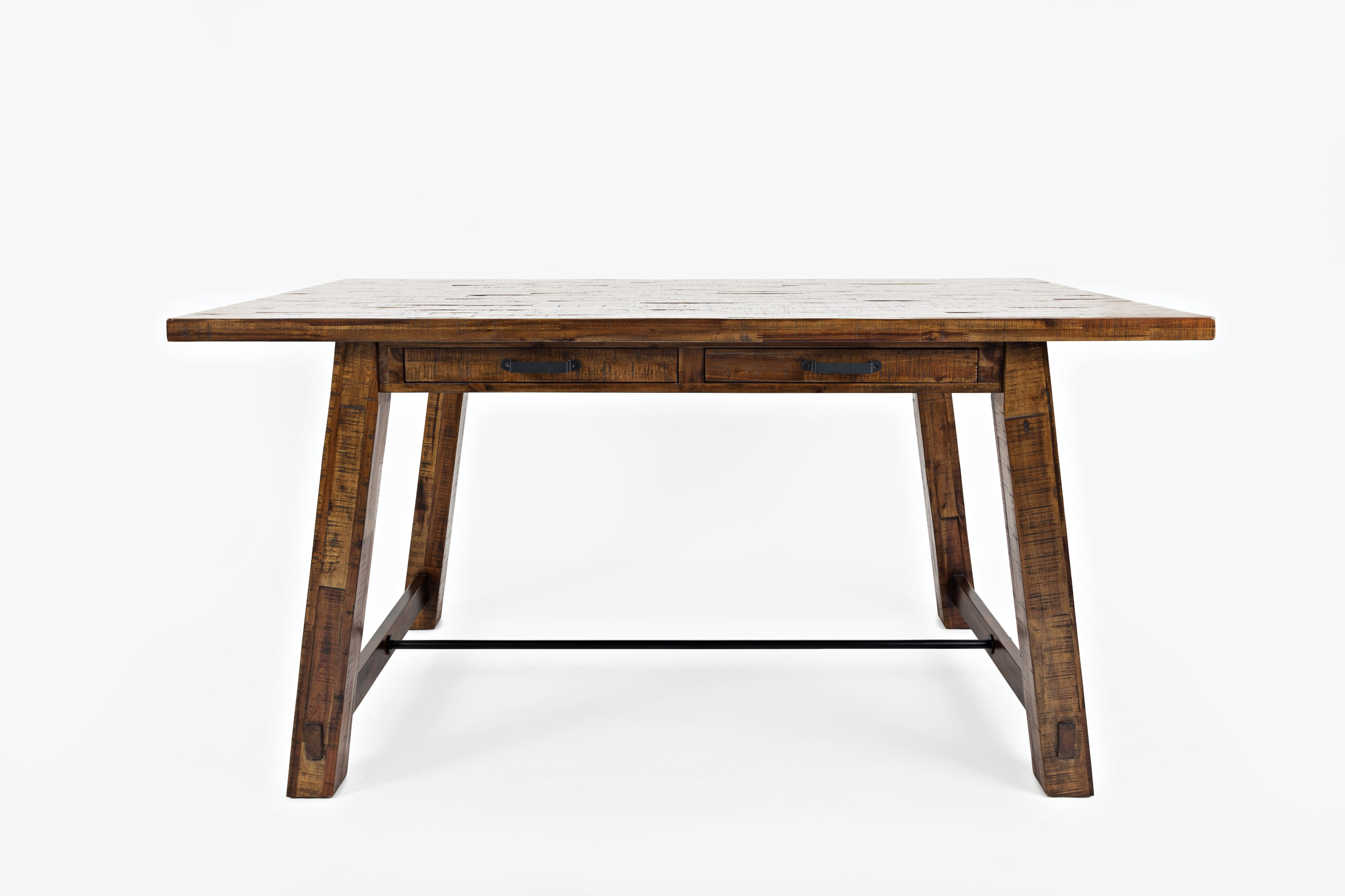 Jofran Cannon Valley Counter Top Trestle Table Vandrie