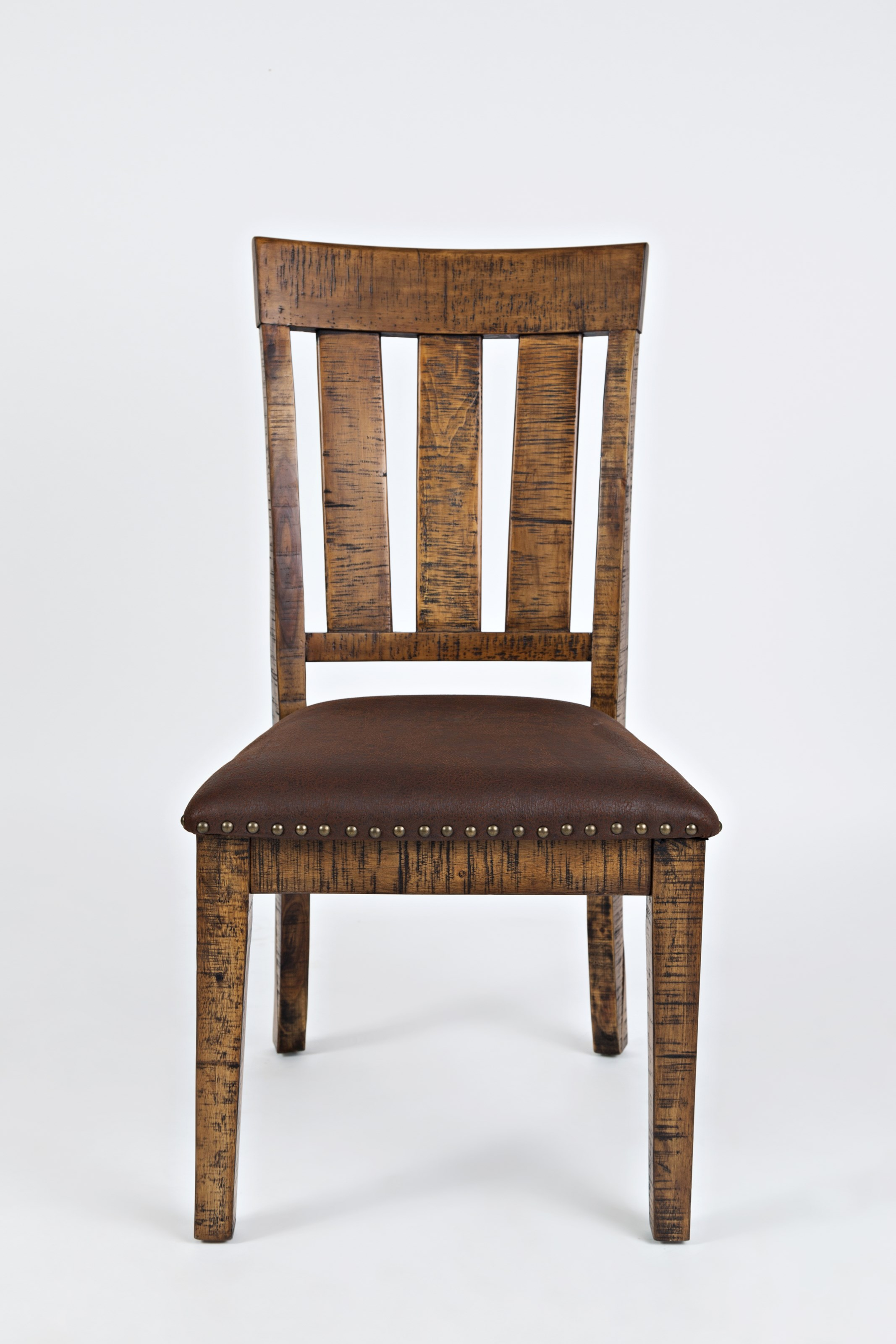 Cannon Valley Chair with Upholstered Seat by Jofran at Stoney Creek Furniture