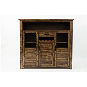 Jofran Calvin Cannon Valley Wine Cabinet
