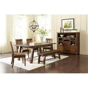 Jofran Cannon Valley 5 Piece Dining Set