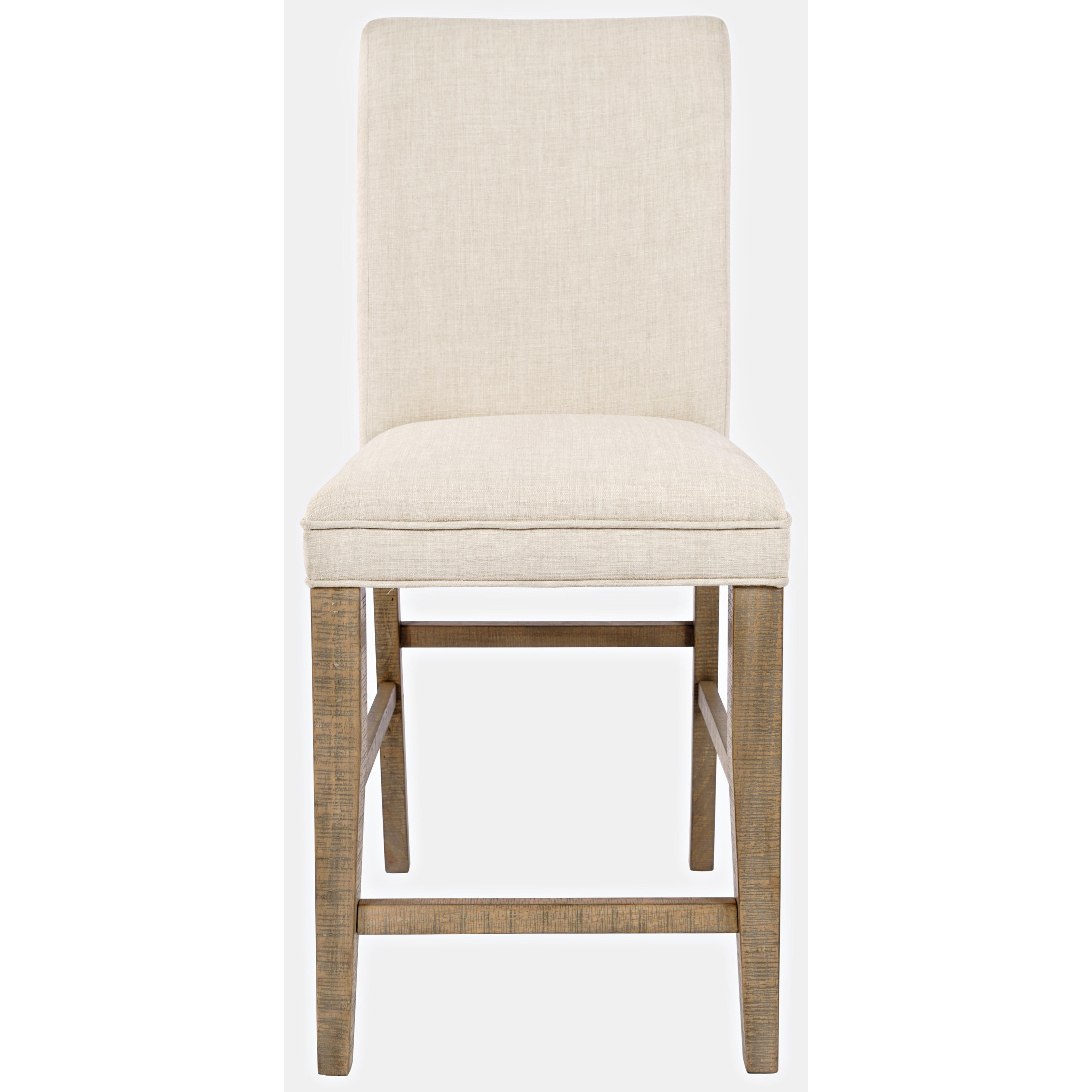 Carlyle Crossing Upholstered Stool by Jofran at Jofran