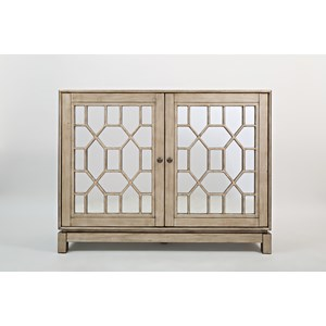 "Casa Bella 50"" Mirrored Console"