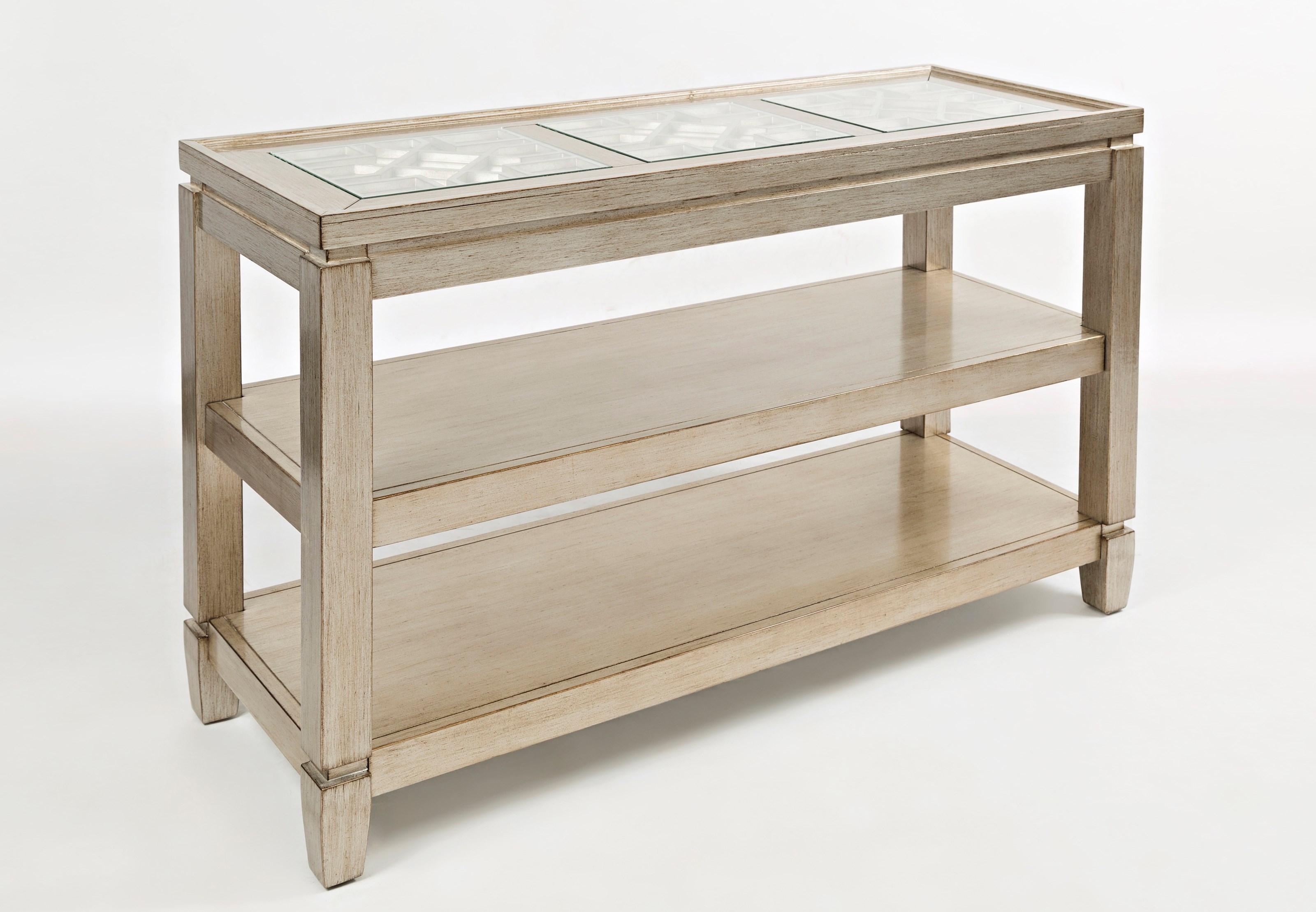 Jofran Casa Bella Sofa Table - Zaku0026#39;s Fine Furniture - Sofa Table