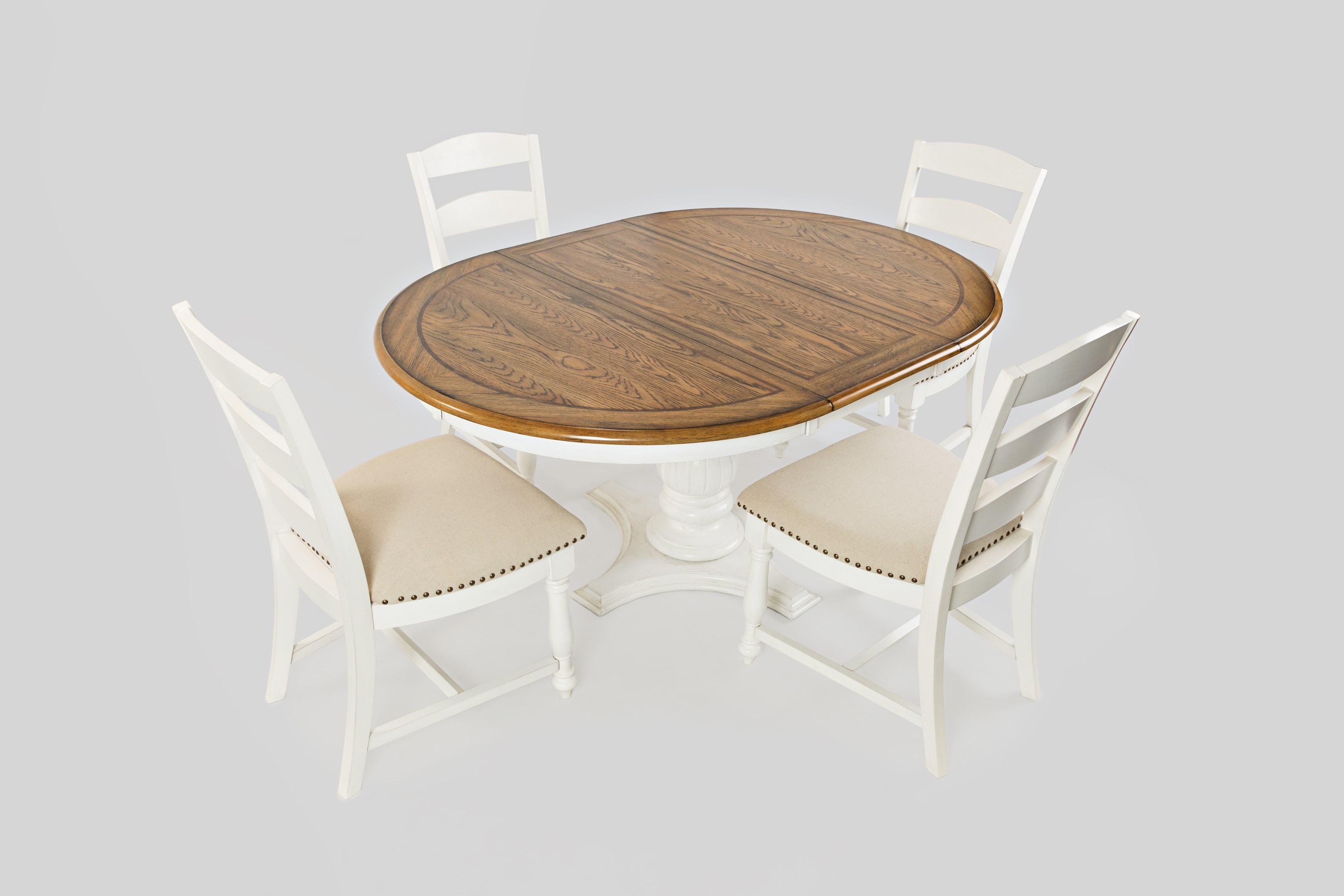 Jofran Castle Hill Oval Table And Chair Set
