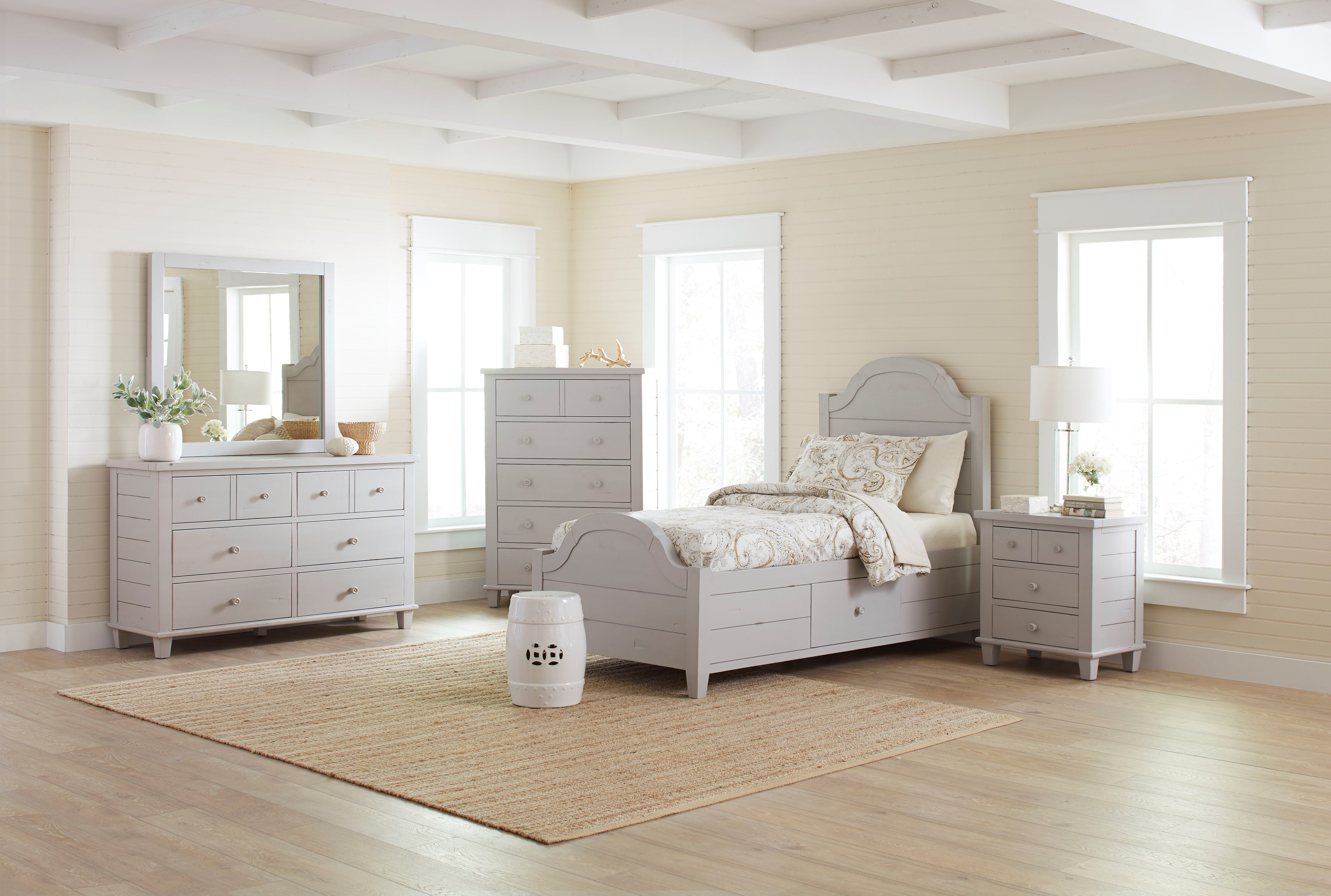 Jofran Chesapeake Twin Size Bed Value City Furniture Panel Beds