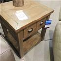 Belfort Essentials Clearance Reclaimed Pine End Table - Item Number: 123798985