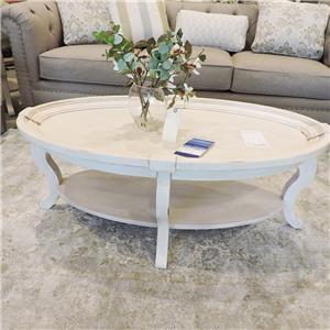 Oval Cocktail Table and 2 End Tables