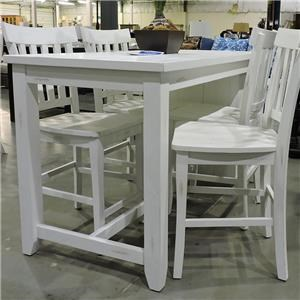 Jofran Clearance Counter Table & Chairs