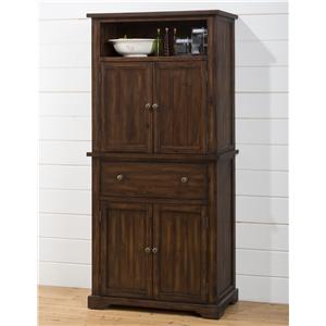 Jofran Cooke County Dining Cabinet with Chalk and Cork Board
