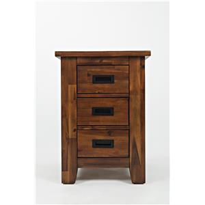 Jofran Coltran Cabinet Chairside Table