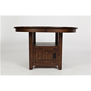 "Jofran Coolidge Corner 48"" Round High/Low Table"