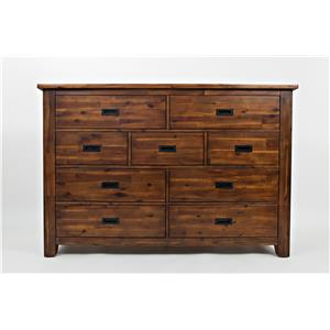 Jofran Coolidge Corner 9 Drawer Dresser
