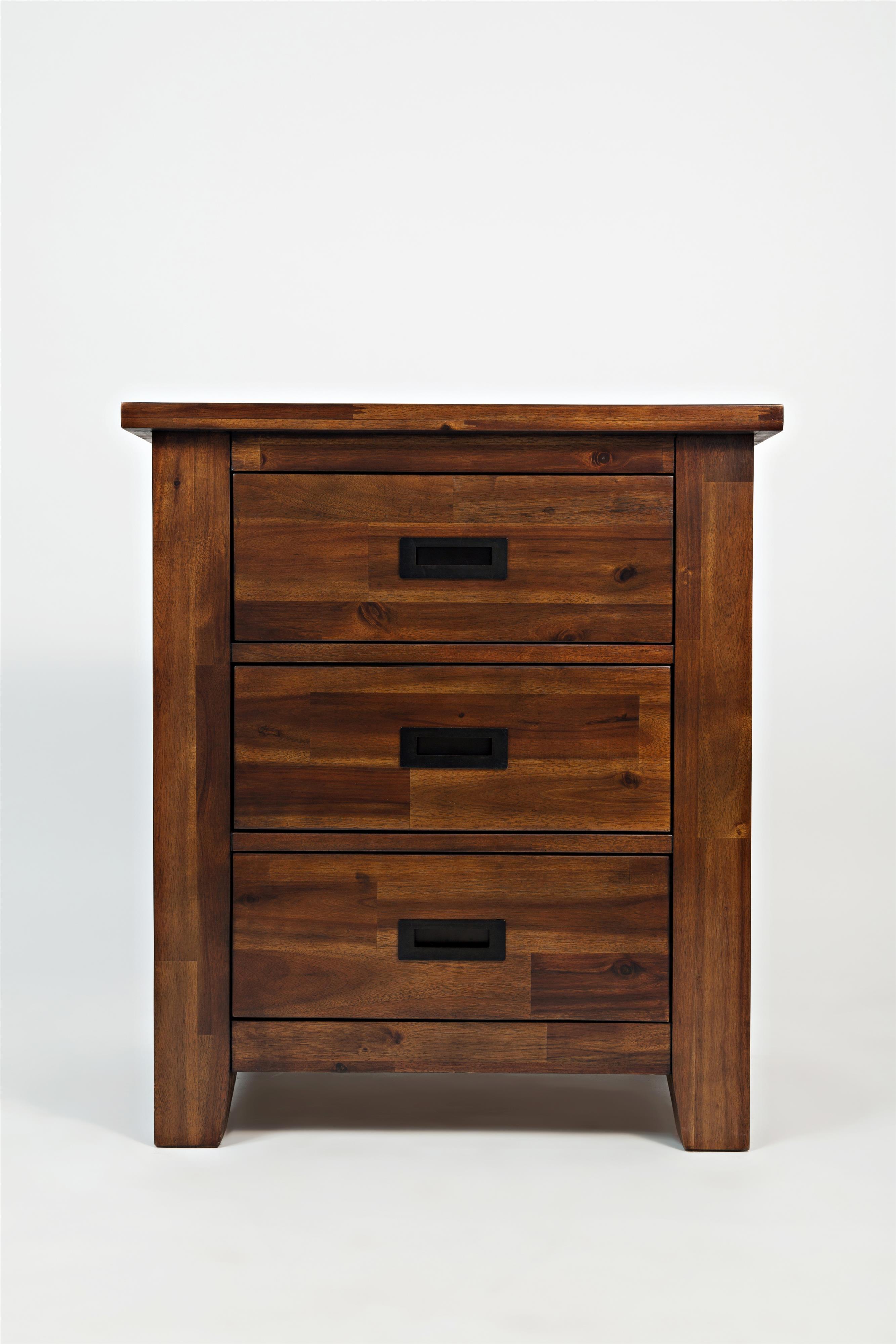 Jofran Coolidge Corner 3-Drawer Nightstand - Item Number: 1503-90