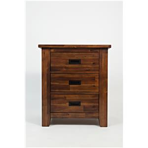 Jofran Coolidge Corner 3-Drawer Nightstand