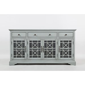 "Belfort Essentials Craftsman 60"" Media Unit"