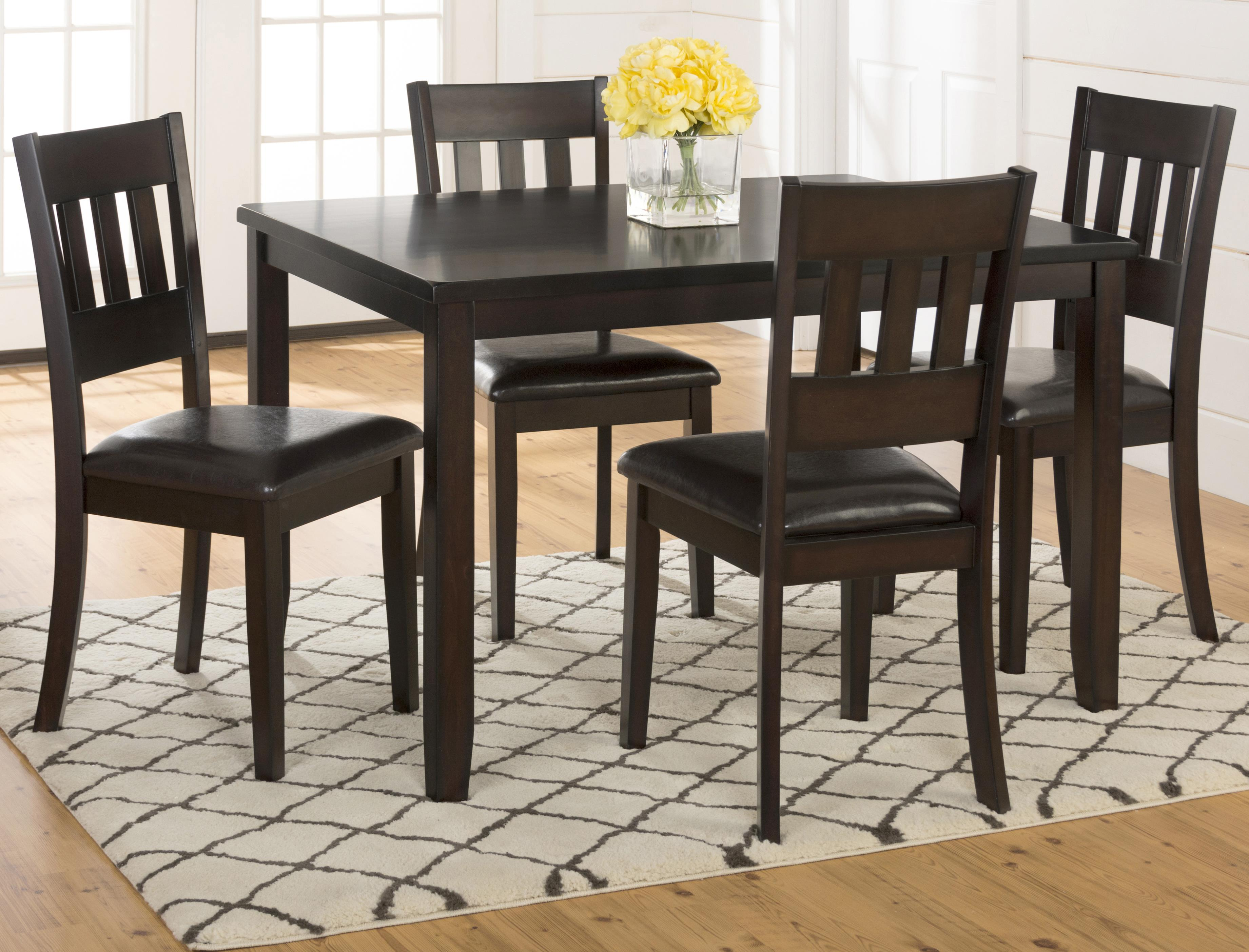 5-Pack- Table and 4 Chairs
