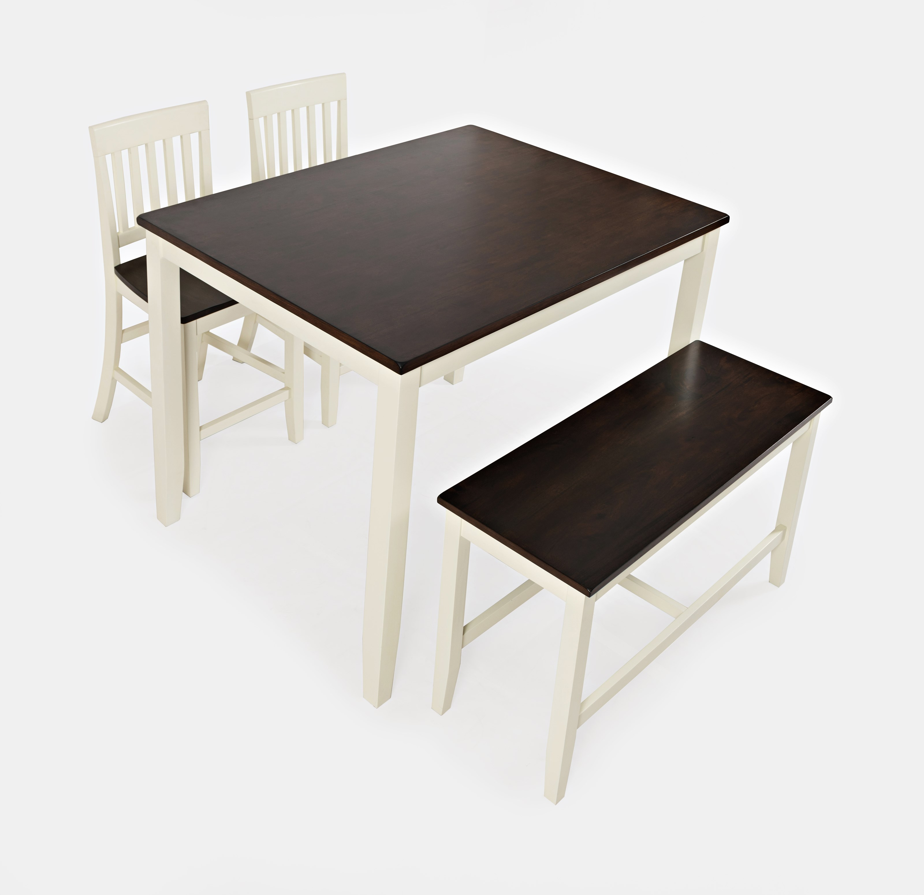 Jofran Chadwick Counter Height Table With Corner Bench And: Jofran Decatur Lane 4 Pack Counter Height Group