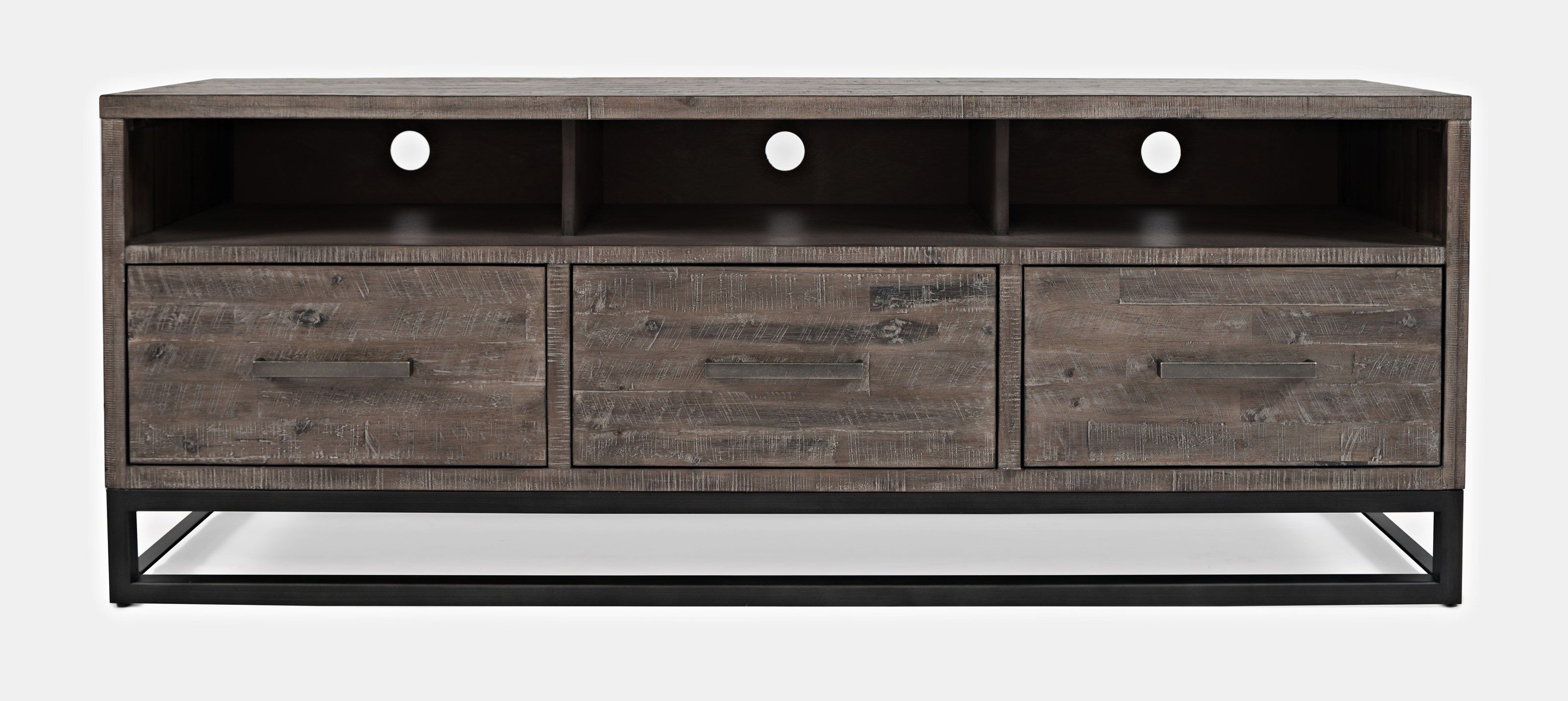 """East Hampton 70"""" Media Console by Jofran at Beck's Furniture"""