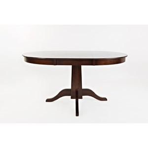 Round to Oval Dining Table