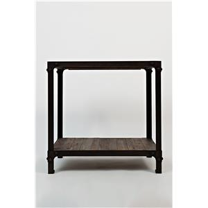 Jofran Reclaimed Pine Reclaimed Pine Chairside Table
