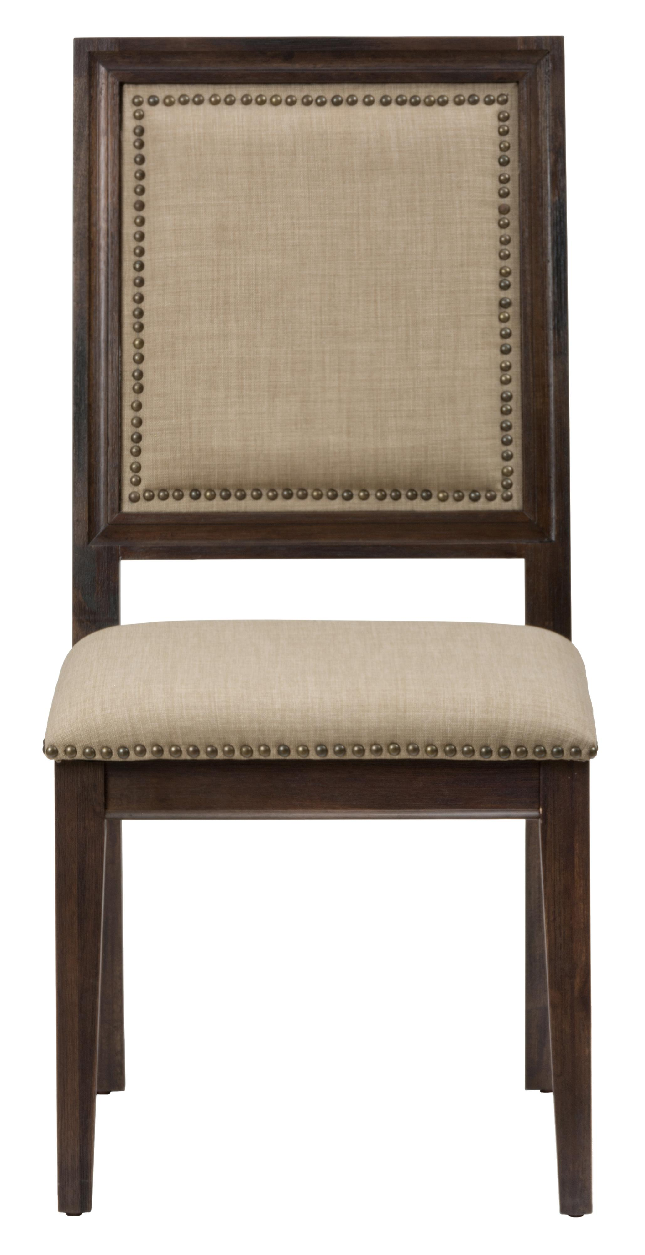 Jofran Evelyn Side Chair with Upholstered Back and Seat - Item Number: 678-423KD