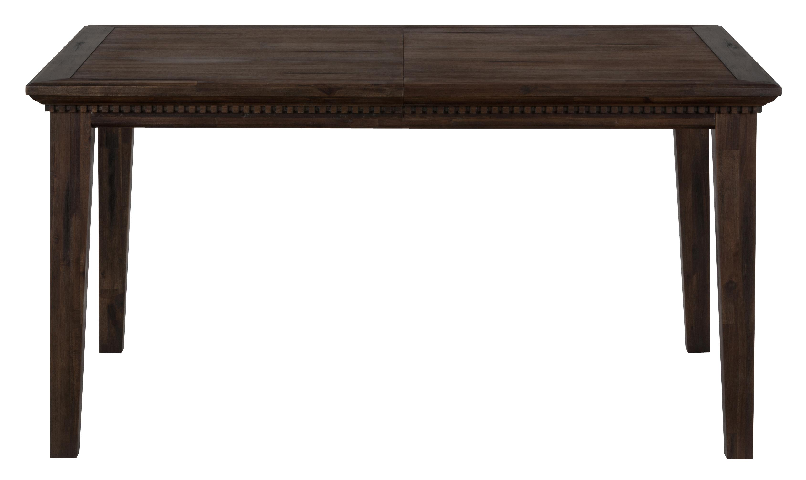 Jofran Geneva Hills Wire Brushed Dining Table That Seats 6