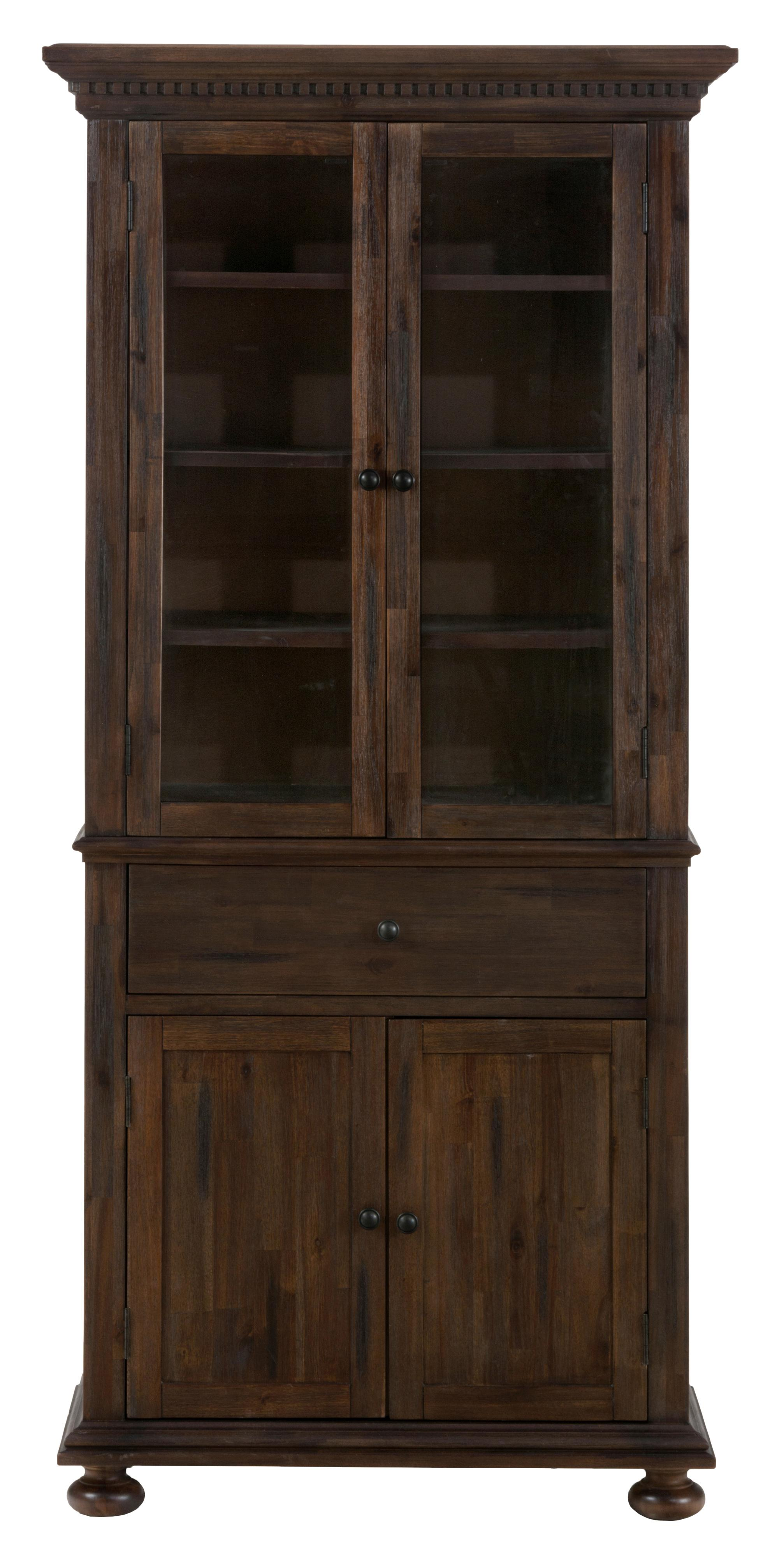 Jofran Evelyn Small Space China Cabinet - Item Number: 678-99+98